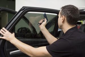 Выездная тонировка стёкол автомобиля