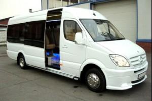 Заказ микроавтобуса в аэропорт